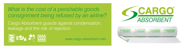Cargo ABSORBENT MATERIAL FOR PERISHABLE AND THERMAL SENSITIVE GOODS IN THE AVIATION INDUSTRY