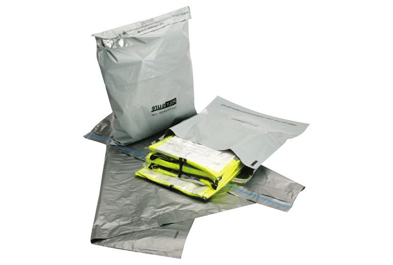 Silver Polythene Mailing Bags