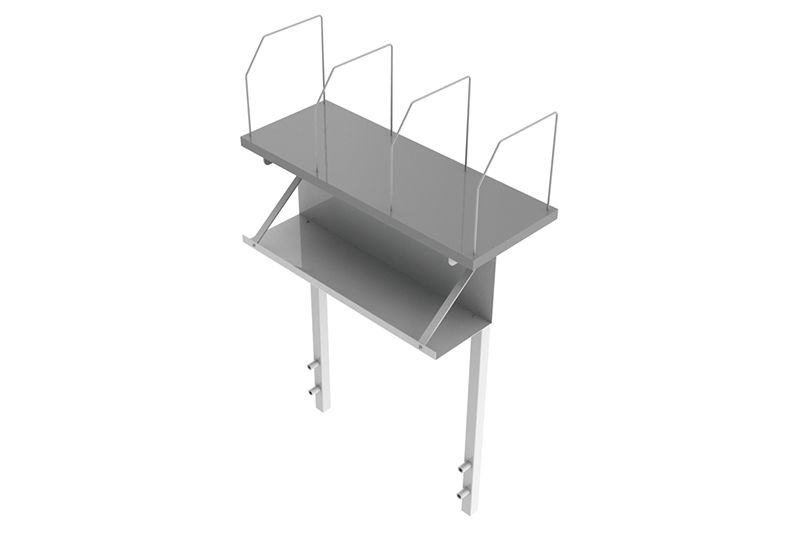 Top Shelf Accessory for Space Saver Bench