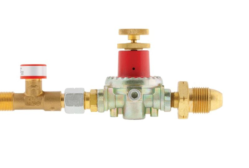 Gas Regulator c/w Excess flow valve