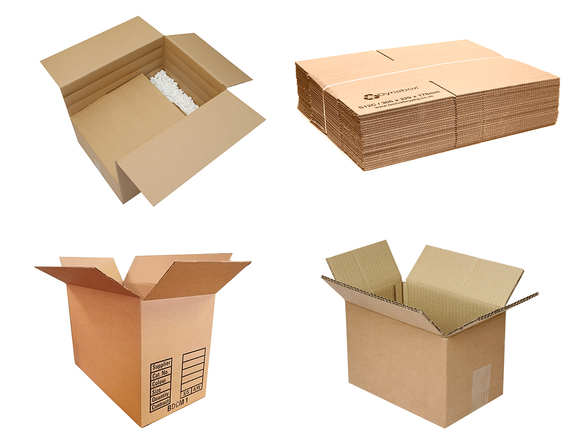 Single and double wall cartons
