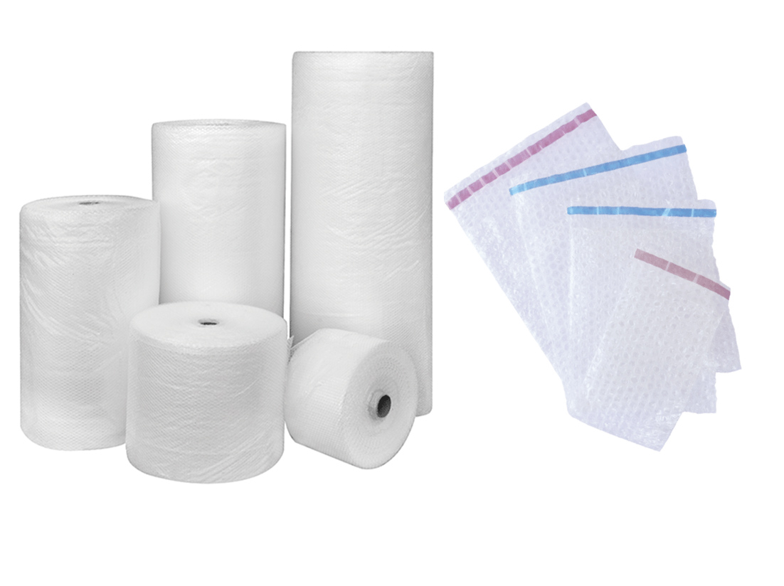 TVP Website product category Bubblewrap and pouches