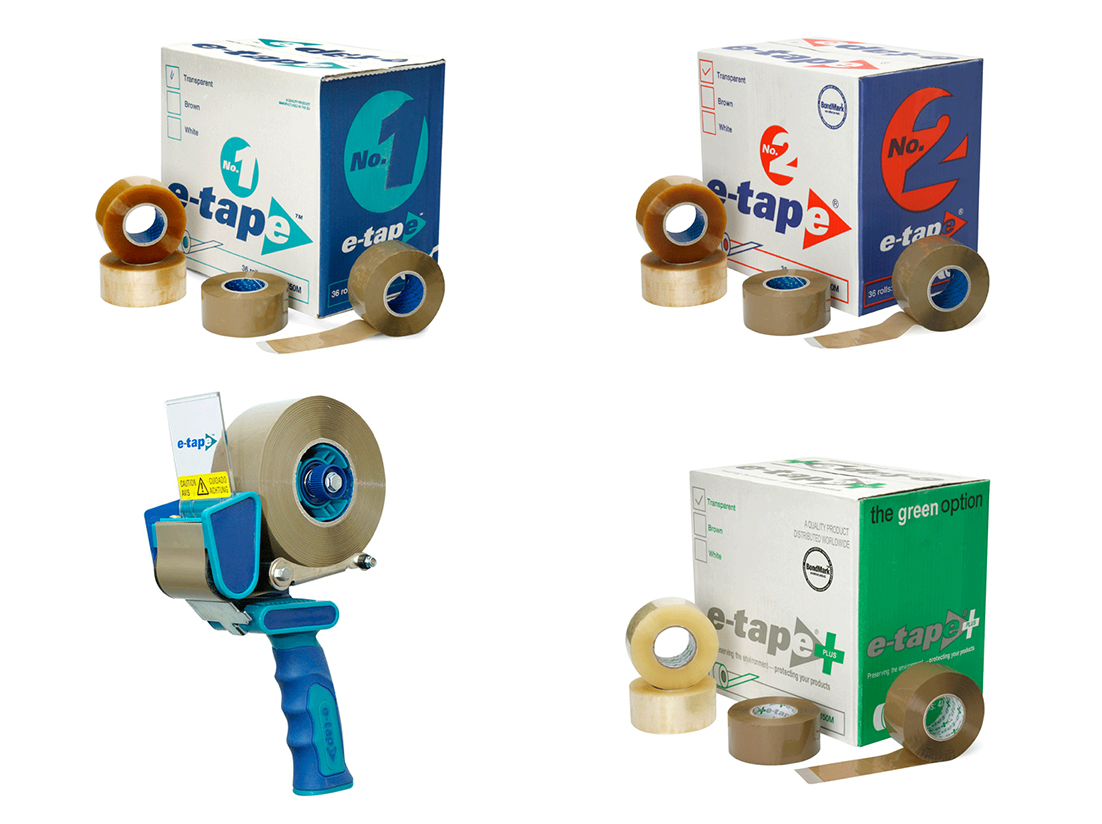 TVP Website product category E-TAPE