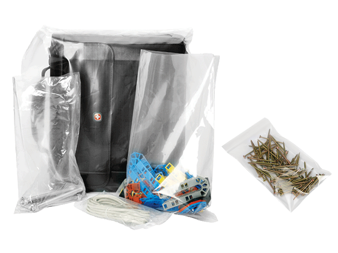 TVP Website product category Polythene bags